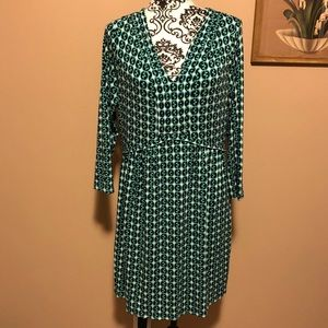 Boden patterned dress